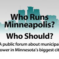 TruthToTell, Monday 10-14-13-9AM ENCORE- TruthToTell: Community Connections VIII- Who Runs Minneapolis? Who Should? - KFAI FM 90.3/106.7/streaming @ KFAI.org
